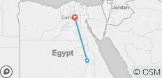 3 nights to luxor and Habu from cairo by sleeper train - 3 destinations