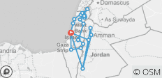 Highlights of Israel and Jordan - 11 days - 26 destinations
