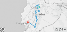 11 Day Hidden Treasures Ecuador - 10 destinations
