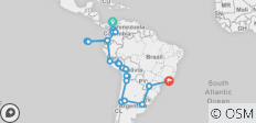 Iconic South America - 32 destinations