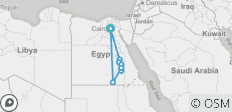 Egypt Experiences Tour 9 Days - 8 Nights (4 N in Cruise Luxor 5*  -  4 N In Cairo Hotel 5* ) - 11 destinations