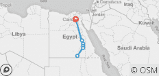 Amazing Egypt 8-Day Aswan Nile Cruise with Internal Flights - 7 destinations