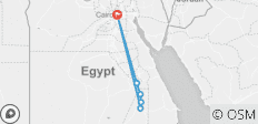 Budget Student 8-Day 5* Cairo Cruise with Sleeper Cabin Train - 6 destinations