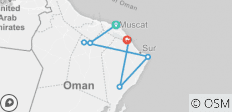 Cultural Tour Of Oman - 7 destinations