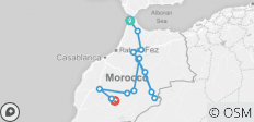 Authentic Morocco Tour - 14 destinations