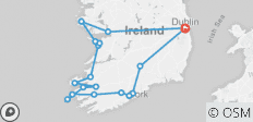 7-Day Ireland to Island Small Group Tour of Ireland - 18 destinations