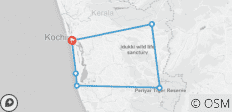 Best of Kerala Tour - 6 destinations