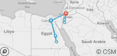 Package 12 Days 11 Nights to Cairo, Luxur , Aswan & Petra Tour - 12 destinations