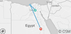 4 Days Tour of Cairo, Alexandria & Luxor with Domestic Flight ( All inclusive )  - 4 destinations