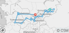 Along the Great Silk Road - 24 Days - 24 destinations