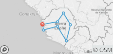 Sierra Leone Active Explorer - 8 destinations