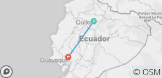 Train Experience in Equator - 2 destinations