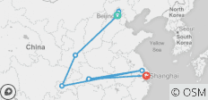 China's Four Elements: Beijing, Xi'an, the Yangtze and Shanghai - 8 destinations