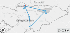 Kyrgyzstan: Great Lakes Nomad Adventure - 9 destinations