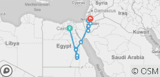 Road to Jordan with Cruise - 16 days - 17 destinations