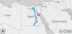 Egyptian Family Adventure & Red Sea - 13 days - 9 destinations