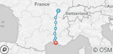 Burgundy & Provence (Southbound) 2020 - 8 destinations
