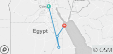 Visiting Cairo Sightseeing, Aswan and Hurghada - 4 destinations