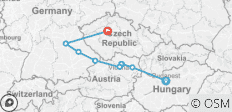 The Blue Danube Discovery with 2 Nights in Prague 2020 - 9 destinations