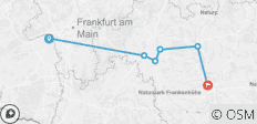 The Heart of Germany (Eastbound) - 6 destinations