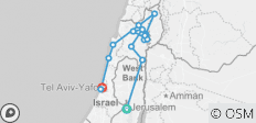 Christian Holyland Galilee and  Golan Heights Stopover Trip - 5 Days  - 15 destinations