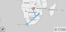 Southern Africa Discovery 13 Days - 6 destinations