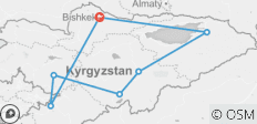 Kyrgyzstan – the country of Celestial Mountains - 7 destinations