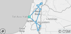 Israel the Holy Land - 11 destinations