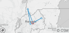 6 Days Gorilla Trekking Adventure with Rwanda-Uganda Experience - 6 destinations