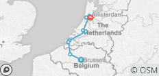 Tulip Time Highlights with 1 Night in Brussels 2020 - 9 destinations