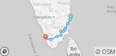 Classical South India - Tamilnadu And Kerala - 12 destinations
