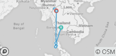 15 Days in Thailand - Feel Free Travel  - 8 destinations