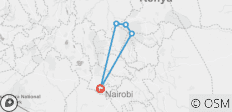 4 Days Mount Kenya Trek using the Sirimon Route - 6 destinations