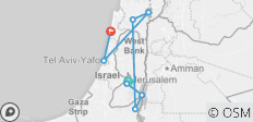 Dual Narrative Multi-Day Tour of Israel & Palestine - 9 destinations