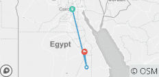 Treasures of Egypt 08 days pyramids & Nile Cruise  - 3 destinations