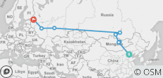 Trans Mongolian Discovery (from Beijing to St Petersburg) - 9 destinations