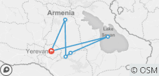 Snow tour in Armenia - 6 destinations