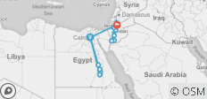 15 Days Egypt and Jordan Tour - 16 destinations