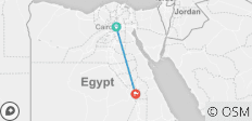 Egypt 4 Days Tour Between Cairo Pyramids, Luxor Temple - 2 destinations