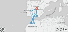 Spain and Morocco - 16 destinations