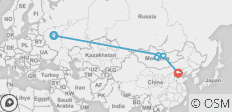 The Genghis Khan (from Moscow to Beijing) - 5 destinations