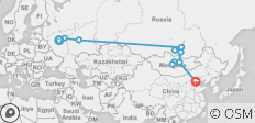 The Cossack (from Moscow to Beijing) - 11 destinations