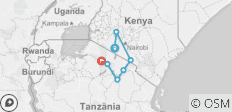 Tanzania and Kenya Safari Combined - 12 Days - 7 destinations