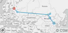 The Ruski Huski - 9 destinations