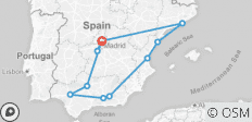 Spanish Wonder End Madrid - 11 destinations
