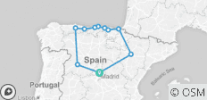 Northern Spain Explorer from Madrid - 11 destinations