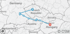 The Legendary Danube with 2 Nights in Prague with Jewish Heritage - 10 destinations