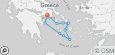 GYR- Explore Cyclades islands 7N sailing vacation- cruise - 12 destinations