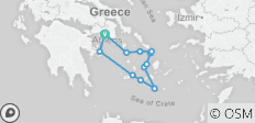 Explore Cyclades islands on board the MS Galileo - 12 destinations
