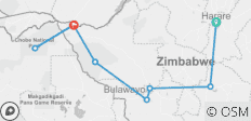 9 Days And 8 Nights Around Zimbabwe Safari Plus Chobe Day Trip (Botswana) - 8 destinations